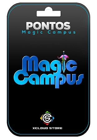 Pontos para o Magic Campus - Xcloudgame