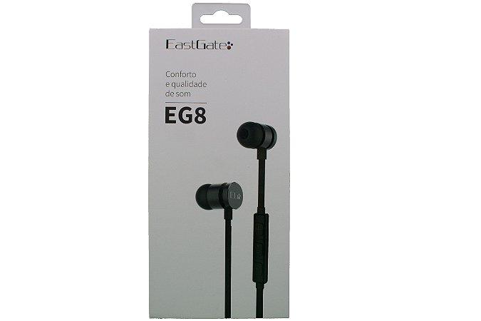 Fone de ouvido EastGate EG8