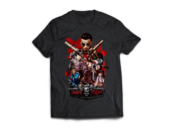 Camiseta do Blood Strike modelo aventura