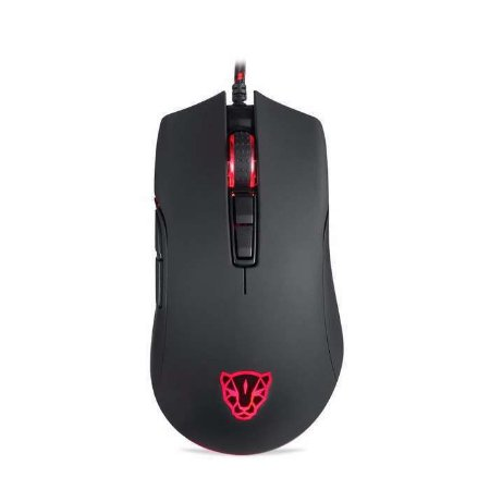 Mouse Gamer Motospeed V70, RGB Backlight, 12000 DPI, Sensor PMW3360 IC, Preto