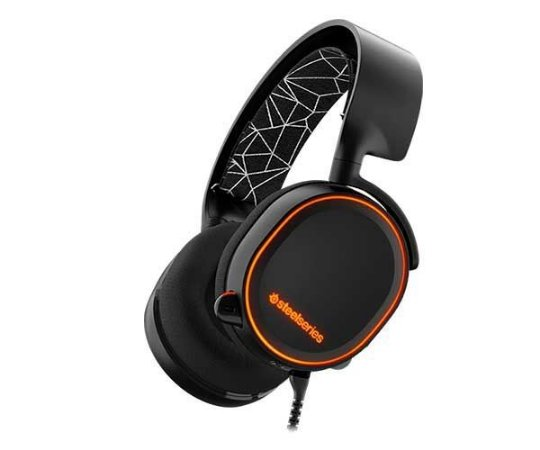 StelSeries Headset Gamer Steelseries Arctis 5 Black 7.1