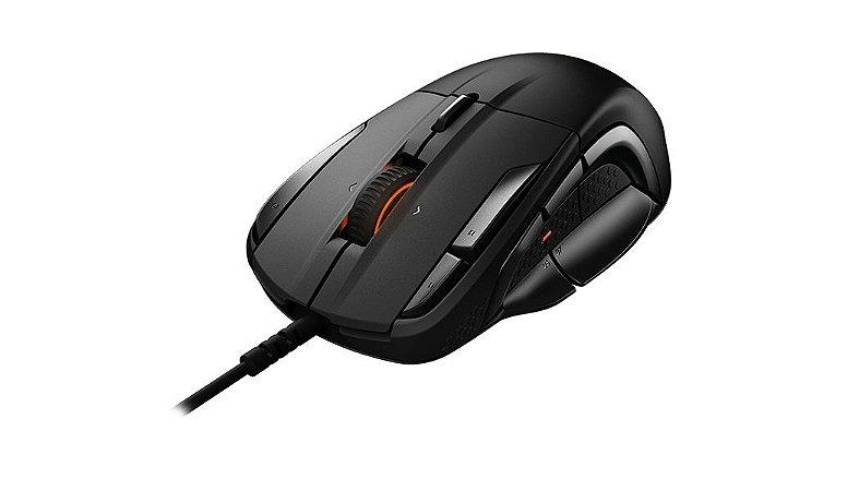 SteelSeries Mouse Gamer Steelseries Rival 500 15 botões 16000DPI