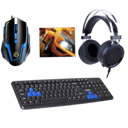 Kit Gamer All Blue