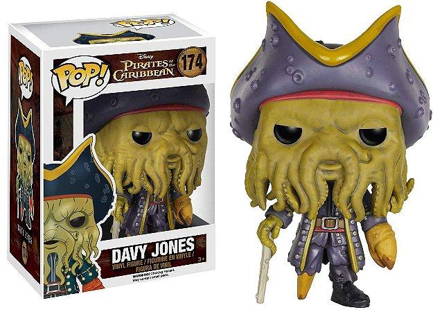 Funko Pop Davy Jones - Piratas do Caribe