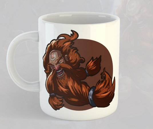 Caneca Gragas League of Legends