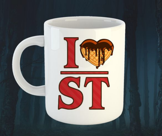Caneca I love Stranger Things