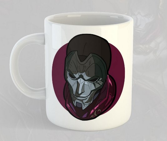 Caneca Jhin League of Legends