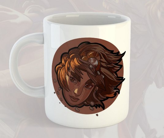 Caneca Taliyah League of Legends