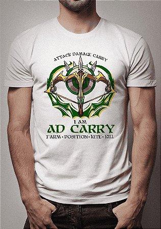 Camiseta AD Carry League of Legends