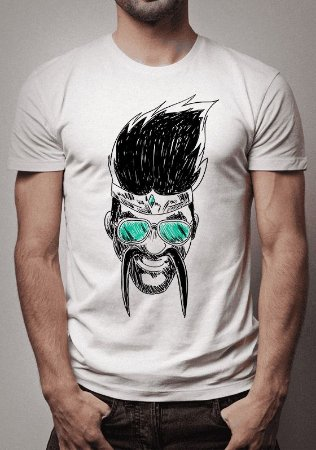 Camiseta Draven Sketch League of Legends