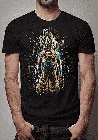 Camiseta Goku Super Sayajin Dragon Ball