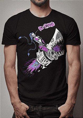 Camiseta Jinx Sketch I'm Crazy League of Legends