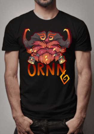 Camiseta Ornn League of Legends