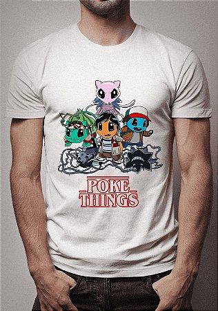 Camiseta Pokethings Stranger Things