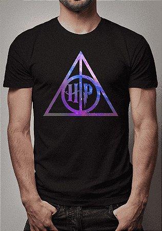 Camiseta Relíquias da Morte Harry Potter