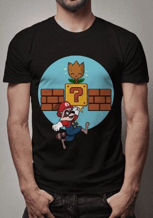 Camiseta Rocket e Groot Guardiões da Galáxia