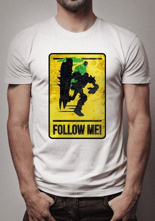 Camiseta Singed Follow Me League of Legends