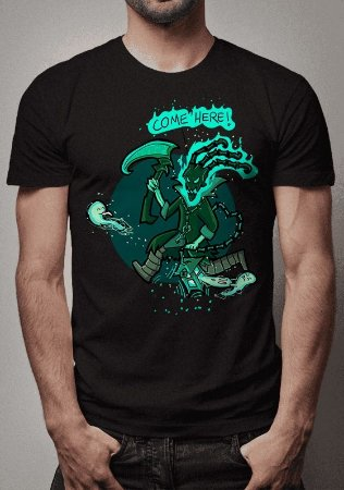 Camiseta Thresh Caçador de Almas League of Legends