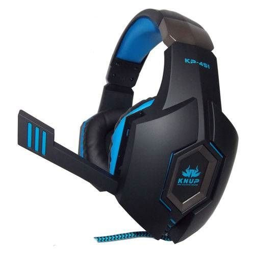 Headset Gamer Knup KP-451 para PS4/Xbox/PC/Celular