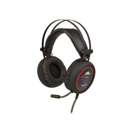 HEADSET GAMER KNUP KP-401 Áudio 7.1 Preto