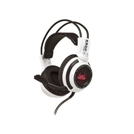 HEADSET GAMER PRO KP-400 Audio 7.1 Branco