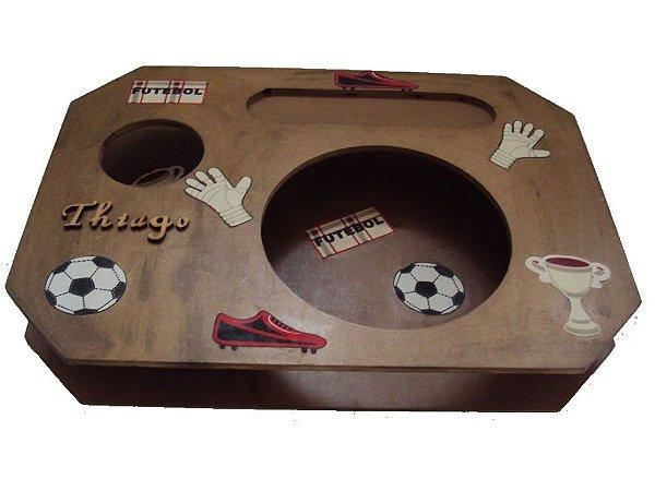 Bandeja refeição futebol