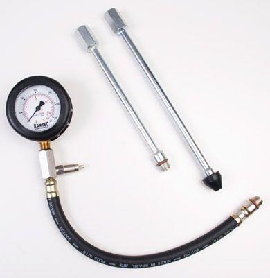 Medidor de compressão do cilindro