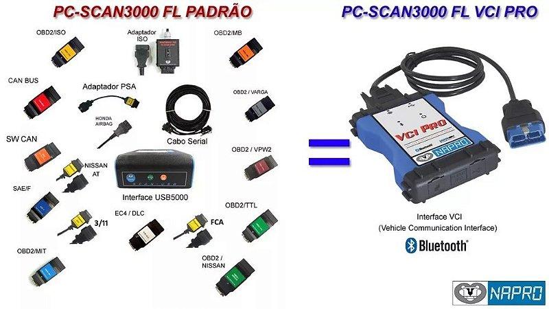 Scanner Napro PC 3000 FL VCI PRO