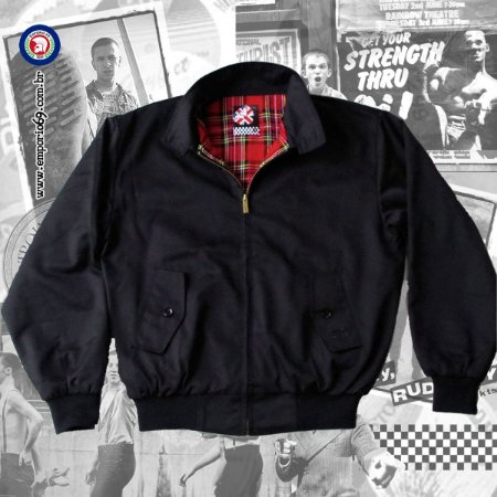 Jaqueta Harrington Warrior  - Black