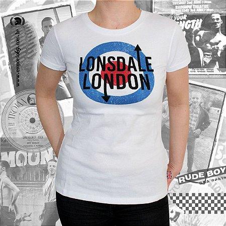 Camiseta Feminina Lonsdale - Fulford