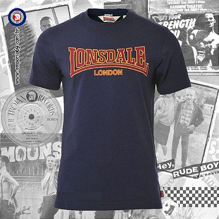 Camiseta Lonsdale Classic - Azul Escuro