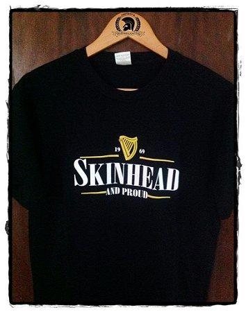 Camiseta Skinhead & Proud