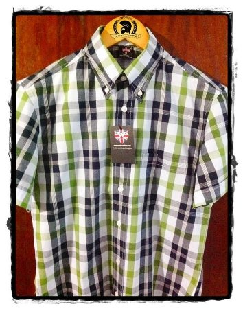 Camisa Button Down Warrior Clothing