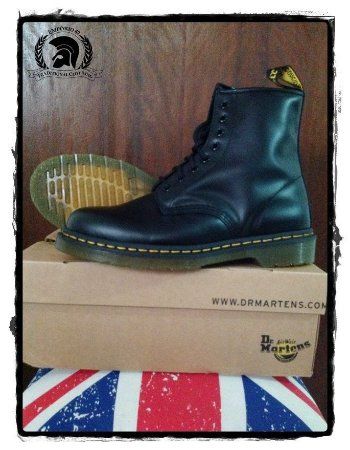 Dr. Martens 1460 Black Smooth