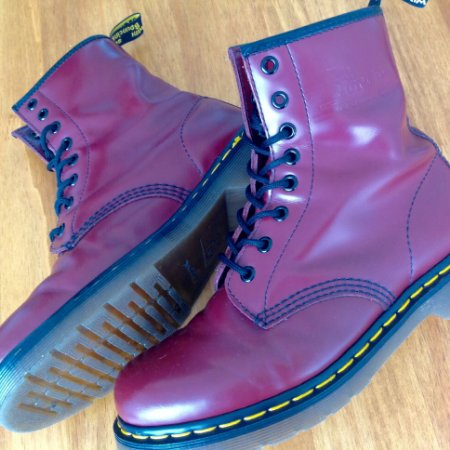 Dr. Martens 1460 Cherry Red - Usado 3x