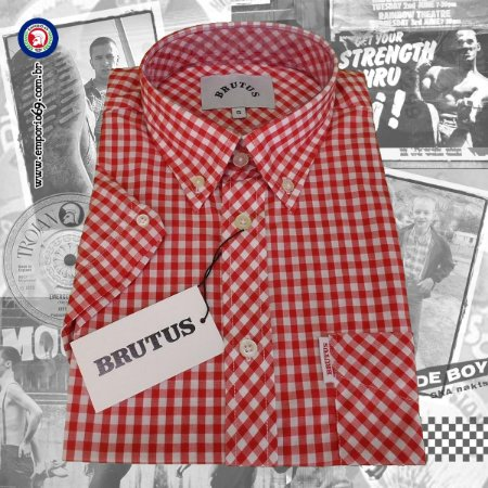 Camisa Brutus - Classic Red Gingham