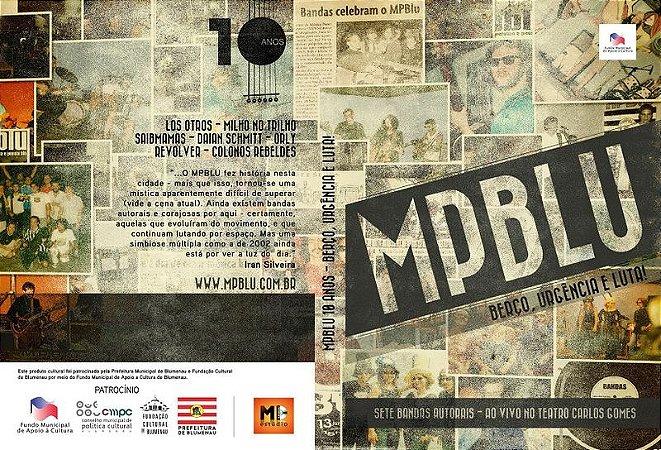 Dvd MPBLU 10 anos