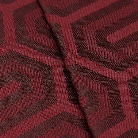 Tecido Jacquard Algodão Impermeabilizado Geometrico bordo  - Pan 42