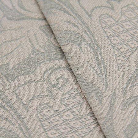 Tecido Jacquard Brasão Verde Claro - Marrocos 31