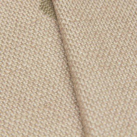 Tecido algodão Jacquard Impermeabilizado Bege Com Bolas - Aus 11
