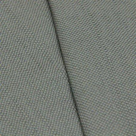 Tecido algodão Jacquard Impermeabilizado Cinza Liso - Aus 31
