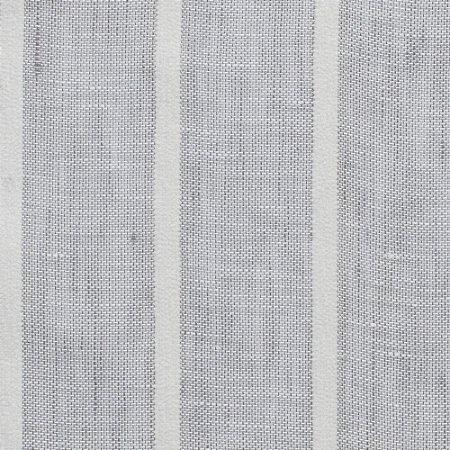 Linho Para Cortina Doha Del Rey Listrado Cinza Largura 3,00m - DOH89
