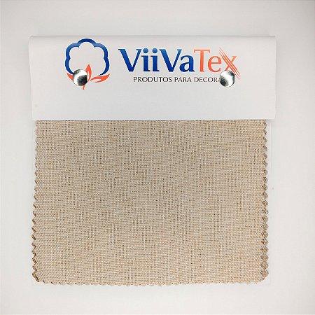 Mostruário de Tecido Linen Look Viivatex - Amostra de 10x10 cm.