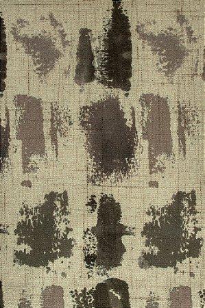 Tecido Estampado Abstrato Fendi, Creme e Bege - Hava 16