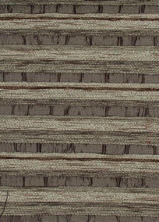 Tecido Chenille Listrado Marrom Claro - Pol 16
