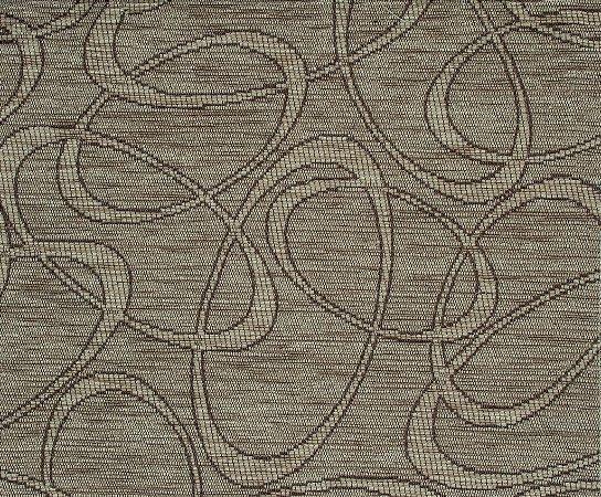 Tecido Chenille Abstrato Marrom Claro - Pol 20