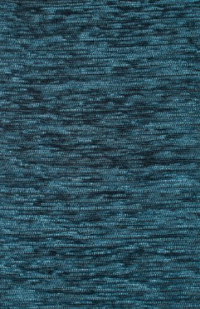 Tecido Chenille Rajado Azul Petróleo - Pol 33