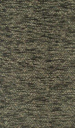 Tecido Chenille Zig-Zag Verde Musgo - Pol 53