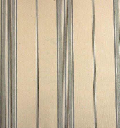 Papel de Parede Grace Linhas Creme e Azul claro - GR921103
