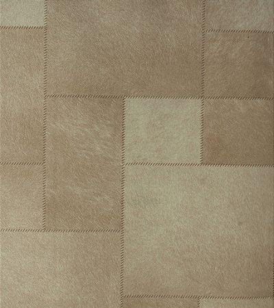 Papel de Parede Grace Estilo Costurado Cimento Queimado - GR920602